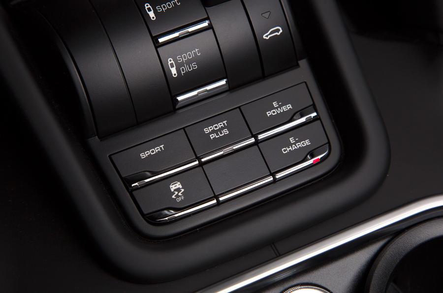 Porsche Cayenne S E-Hybrid modes