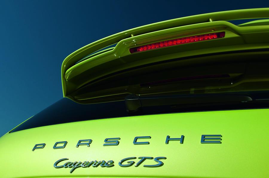 Porsche Cayenne GTS badging