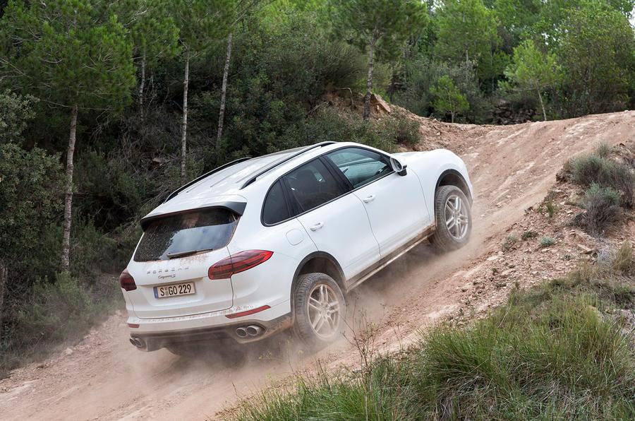 2014 Porsche Cayenne S diesel ascent