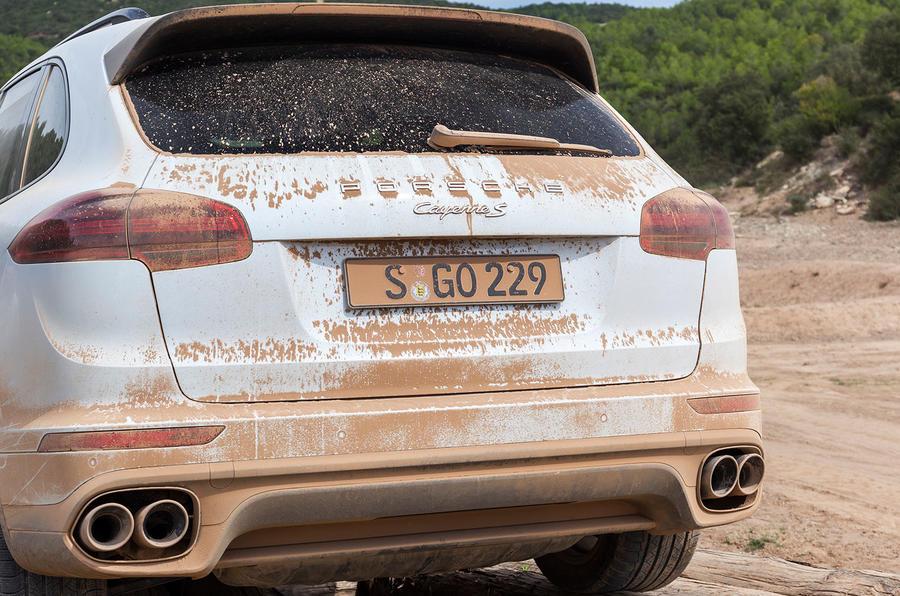 2014 Porsche Cayenne S rear