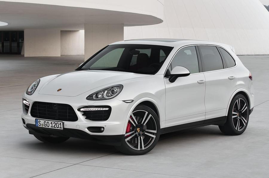 £107,460 Porsche Cayenne Turbo S