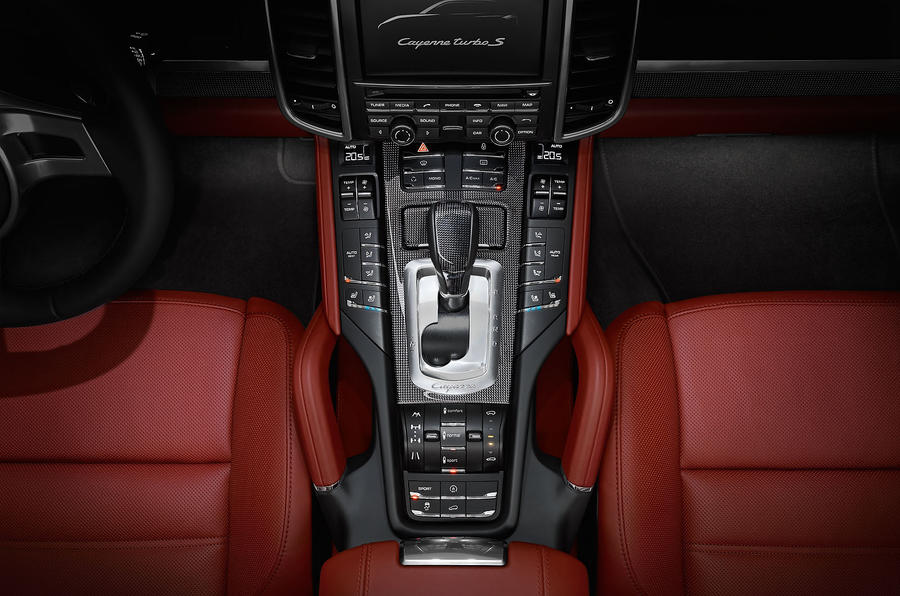 Porsche Cayenne Turbo S tiptronic gearbox
