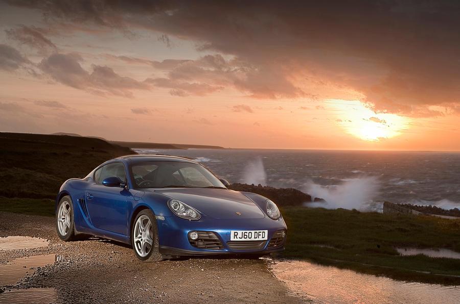 4.5 star Porsche Cayman