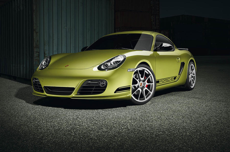 LA motor show: Porsche Cayman R