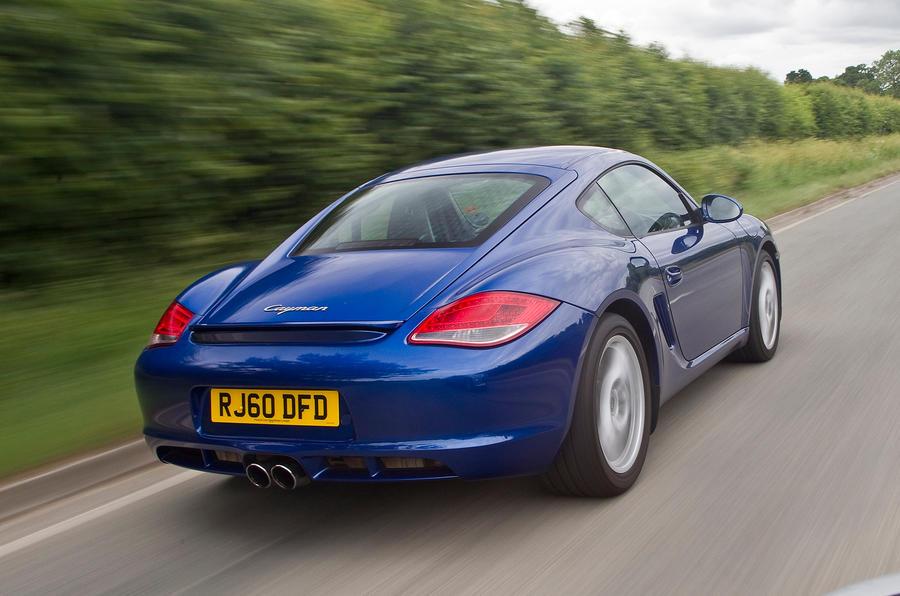Porsche Cayman rear quarter