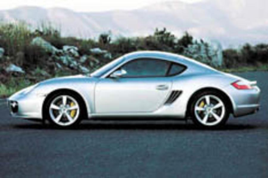 Porsche lets Cayman loose