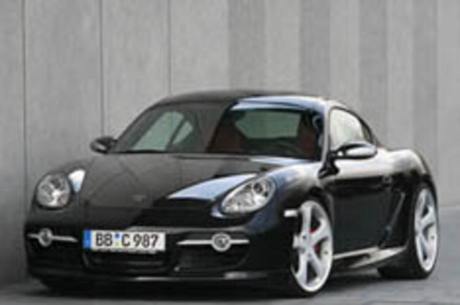 370bhp for modded Cayman