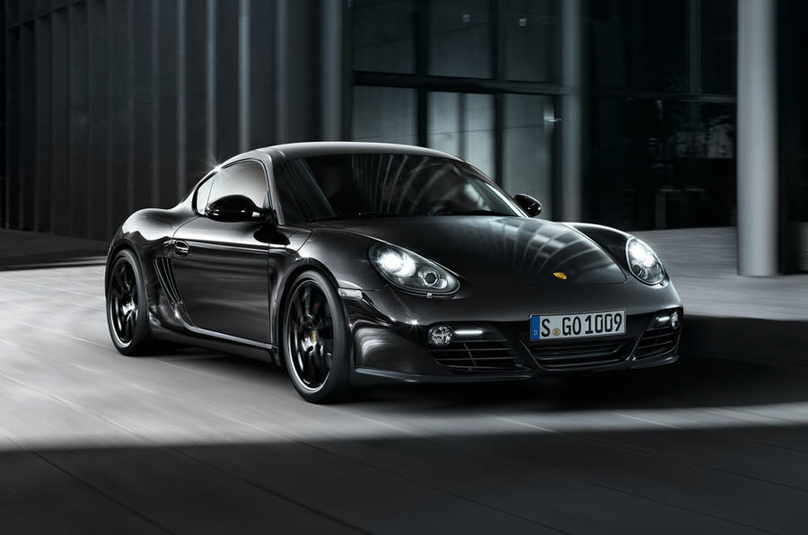 Porsche's Black Edition Cayman S