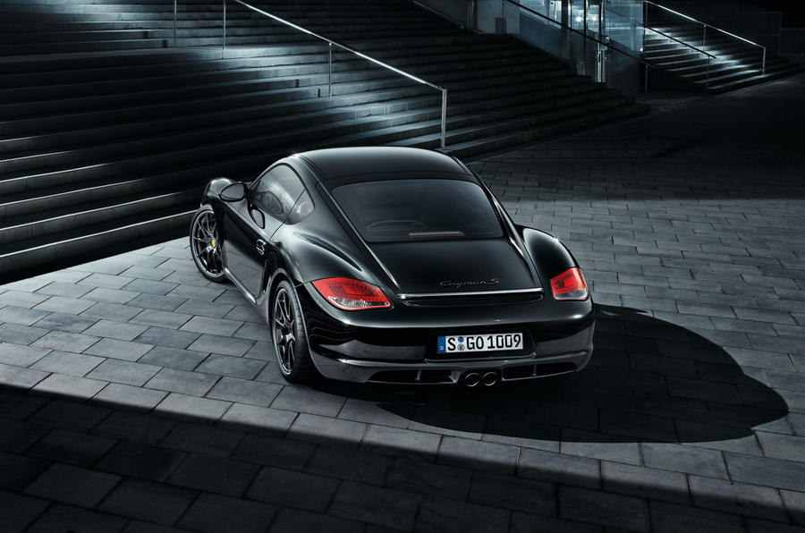 Porsche's Black Edition Cayman S