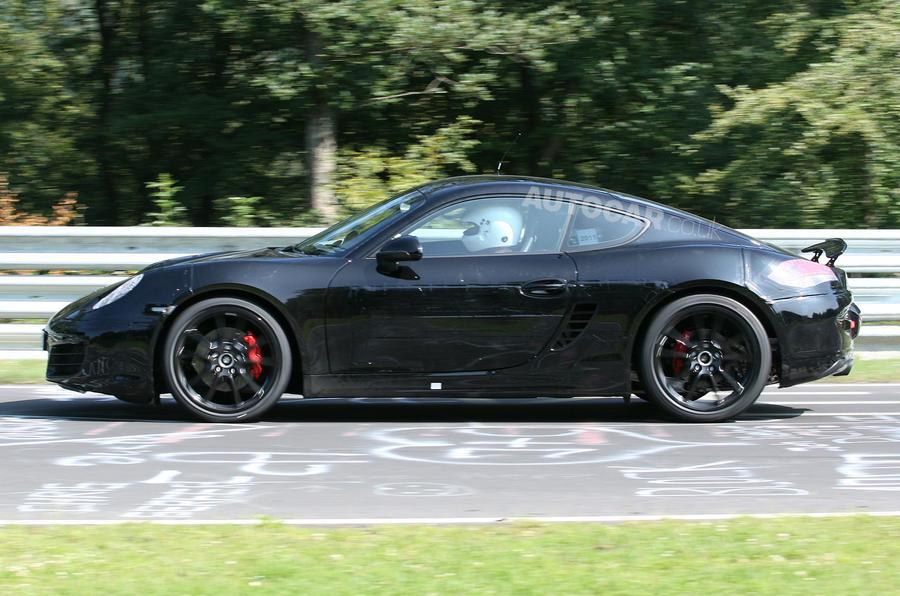 Next Porsche Cayman - new pics