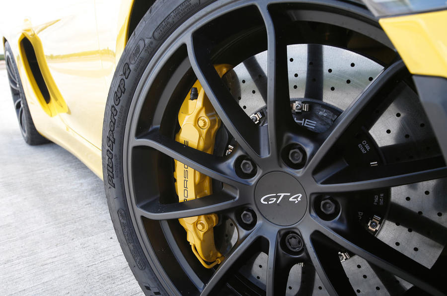 20in Porsche Cayman GT4 alloys