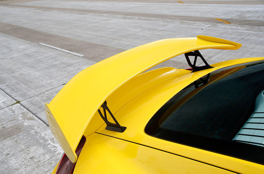 Porsche Cayman GT4 rear spoiler