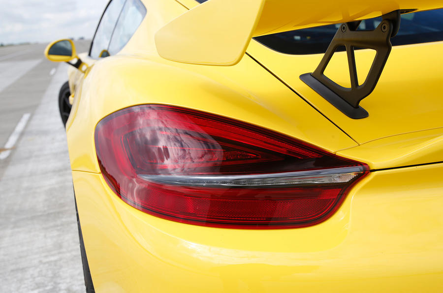 Porsche Cayman GT4 rear light