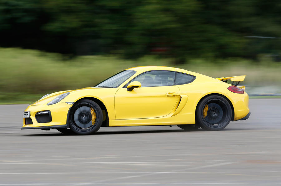 The 385bhp Porsche Cayman GT4