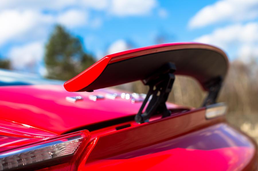 Porsche Cayman rear spoiler