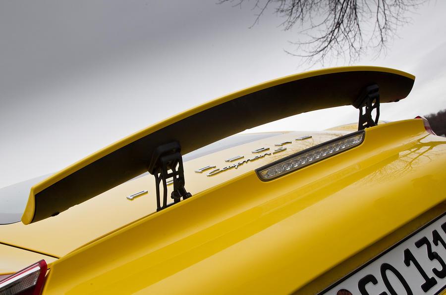 Porsche Cayman S rear wing