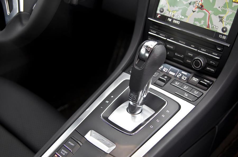 Porsche Cayman PDK gearbox