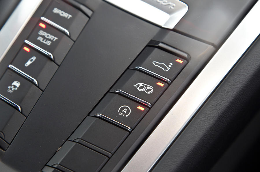 Porsche Cayman S dynamic control