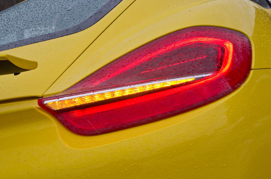 Porsche Cayman S rear light