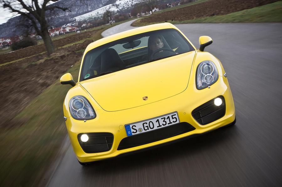 175mph Porsche Cayman S