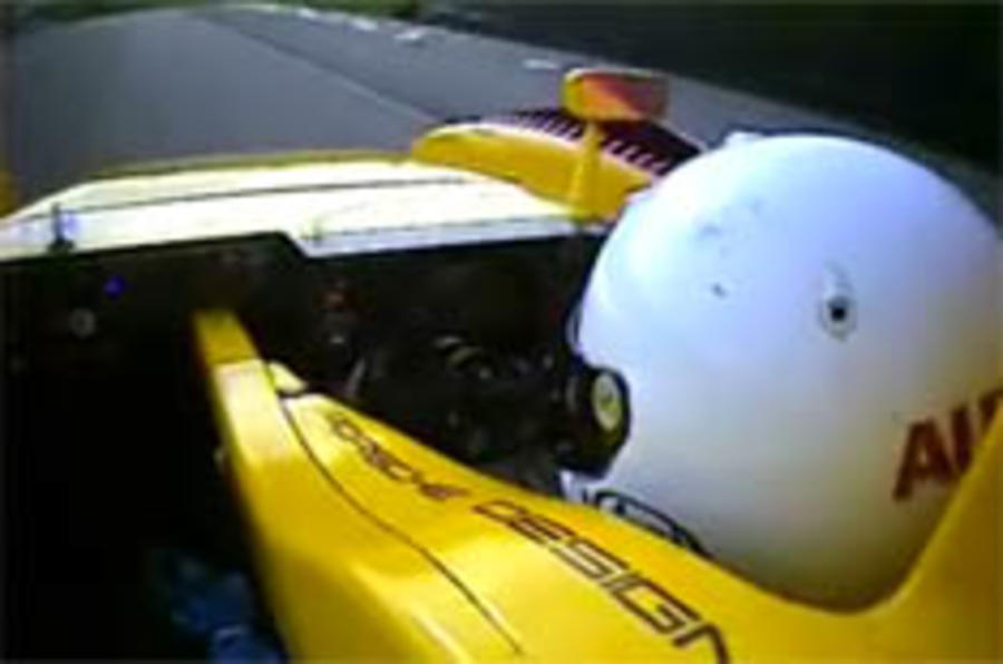 Chris Harris drives Porsche's RS Spyder