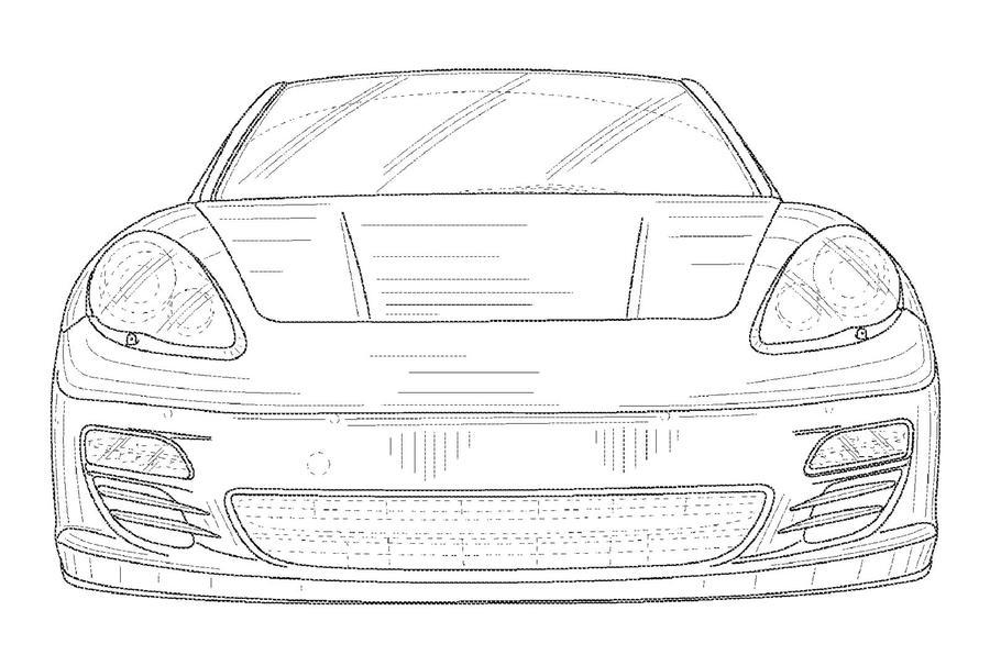 Panamera cabrio - new pics
