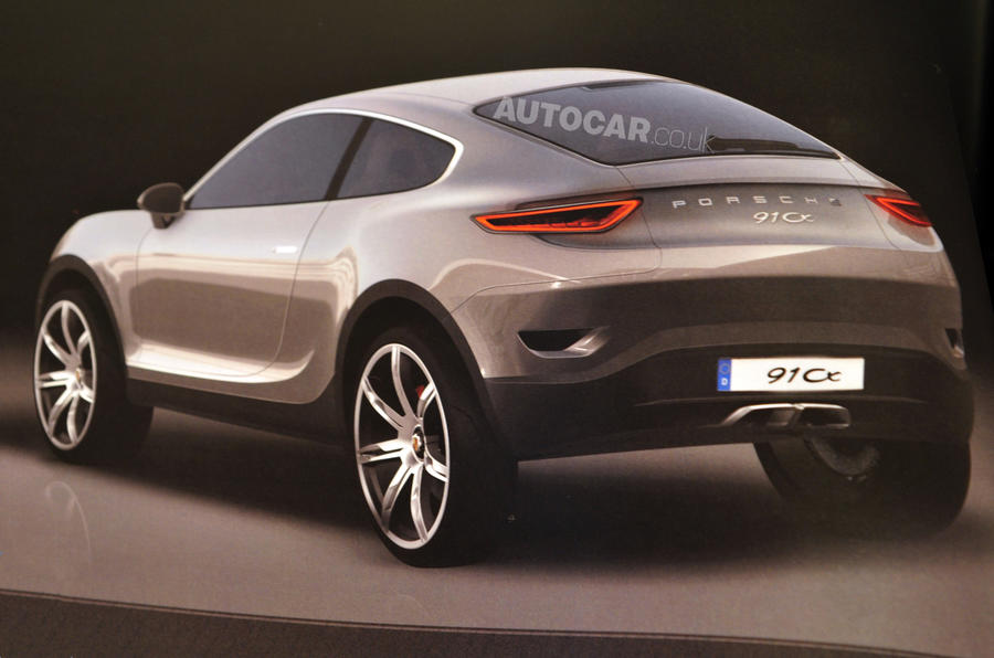 Porsche's Evoque uncovered