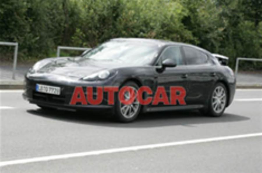 Undisguised: Porsche Panamera