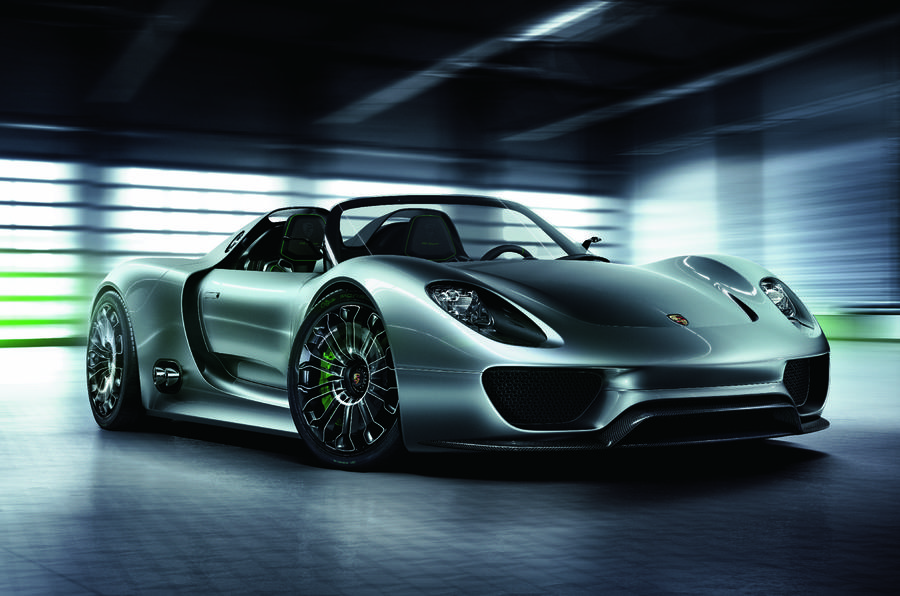 Porsche: 'Hybrid in every range'