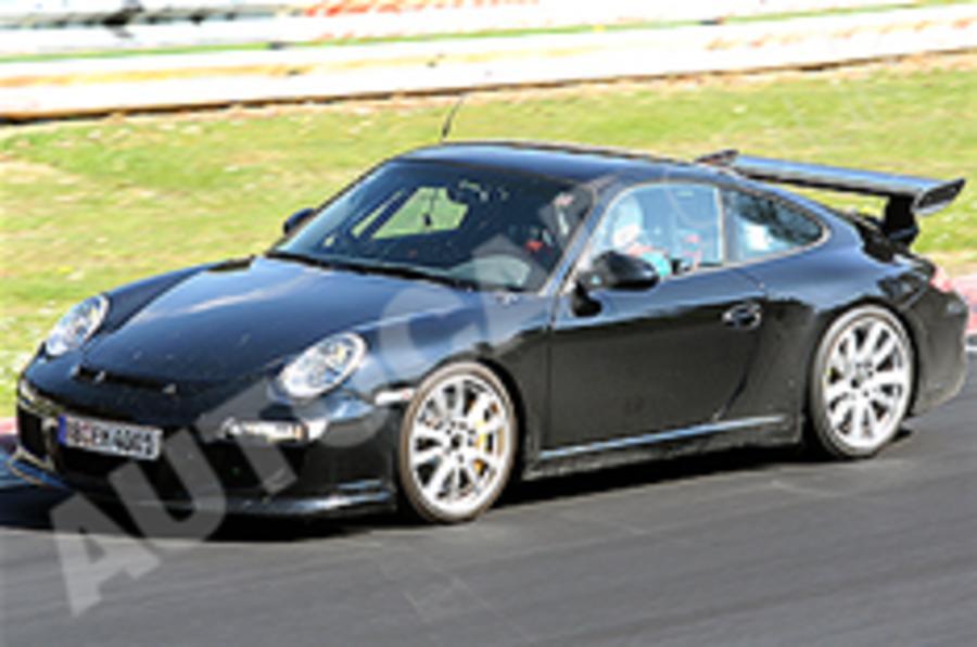Spied: Porsche 911 GT3 RS