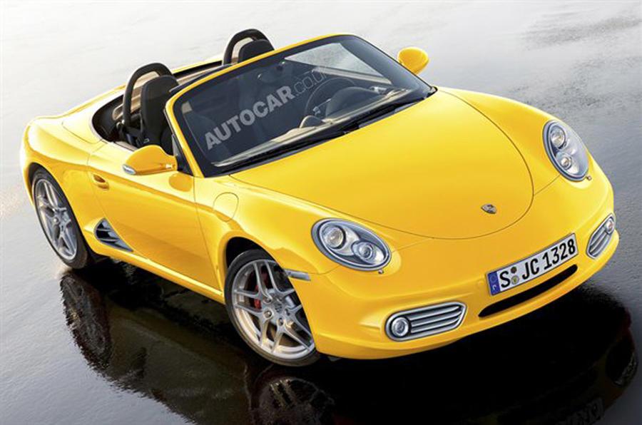 Baby Porsche Boxster confirmed
