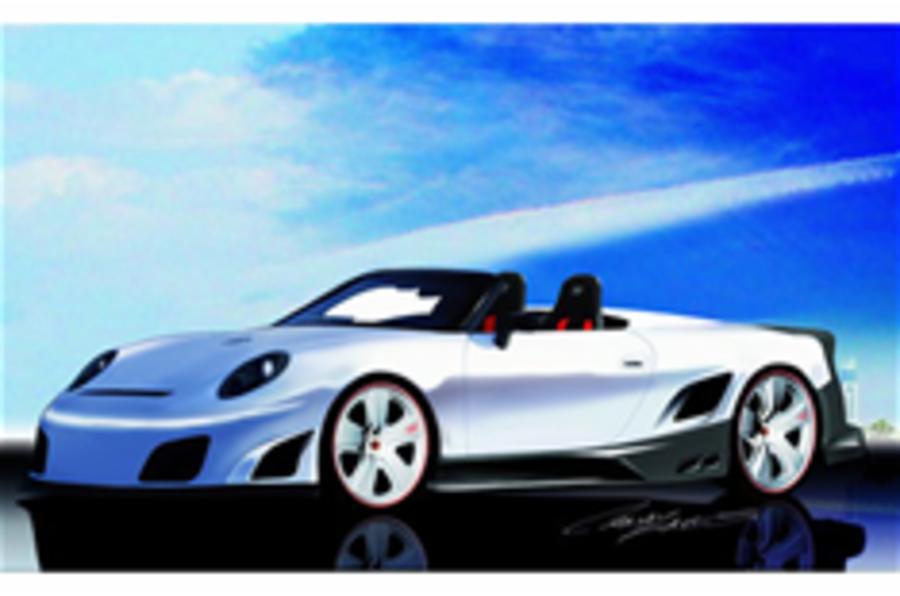 Open Porsche GT9R has 1120bhp