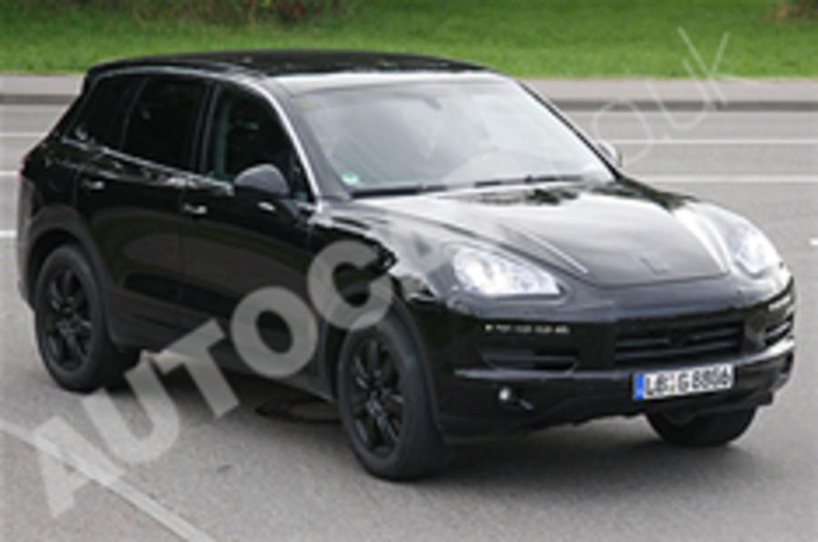 New Porsche Cayenne spied