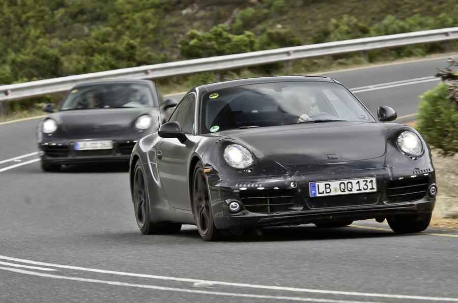 All-new 911 - first ride