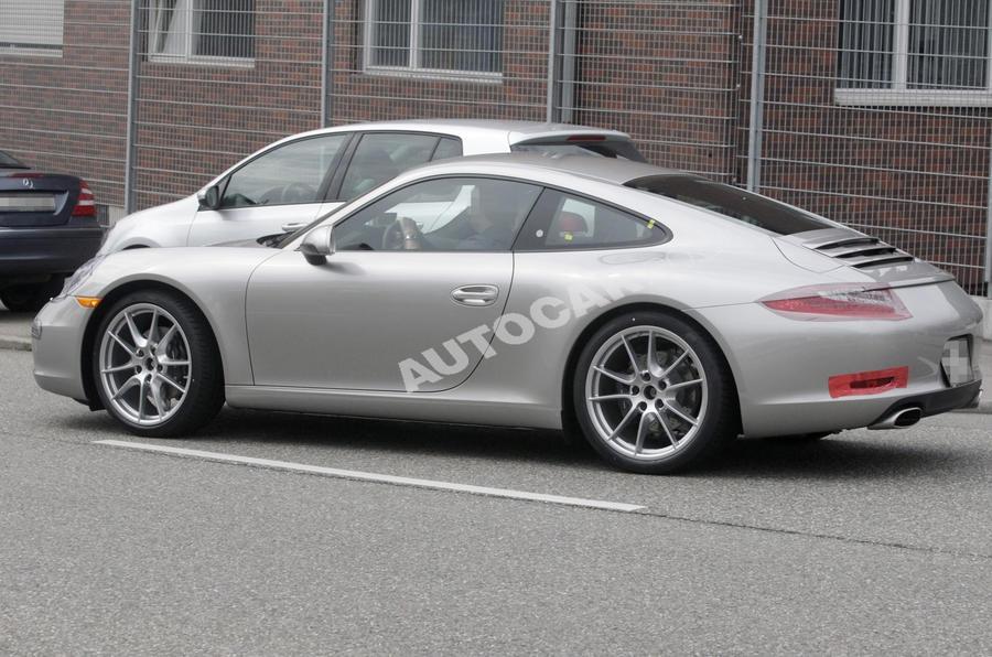 New Porsche 911 - more pics