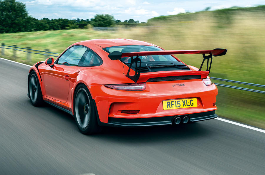This is the £131,296 Porsche 911 GT3 RS