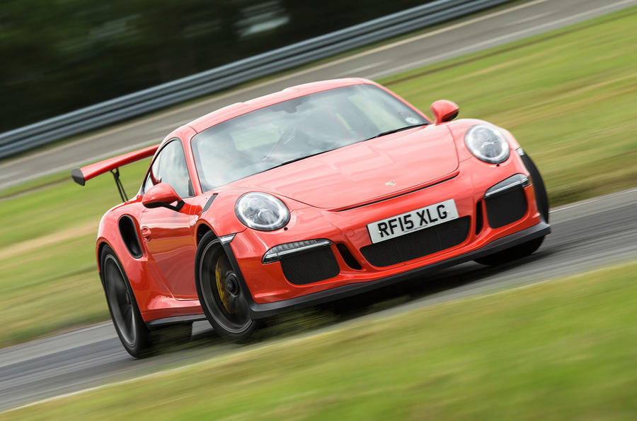 Grip and feedback are superb in the Porsche 911 GT3 RS