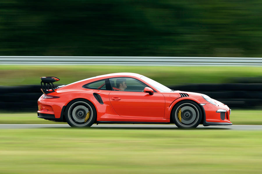 But you pay for it with a lot of noise in the Porsche 911 GT3 RS's cabin