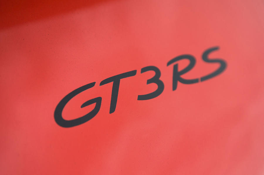 The first Porsche 911 GT3 RS first appeared on the 996 911