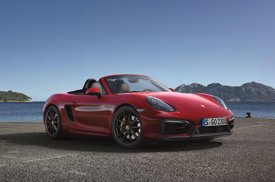 Porsche Boxster and Cayman GTS revealed