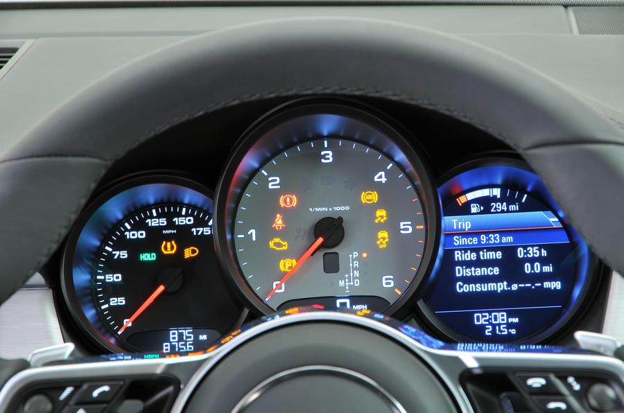 ... Porsche Macan Instrument Cluster ...