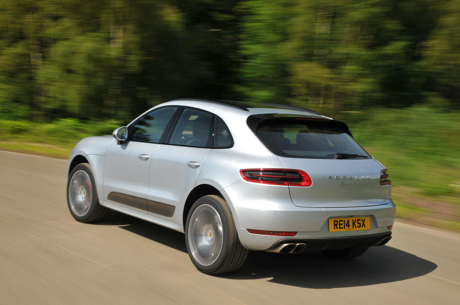 Porsche Macan rear end