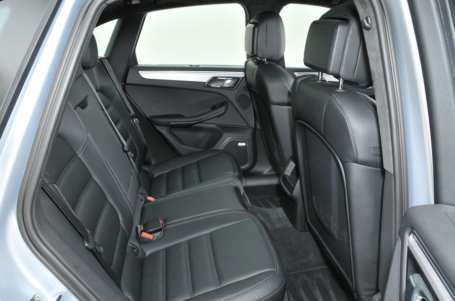 Porsche Macan rear seats