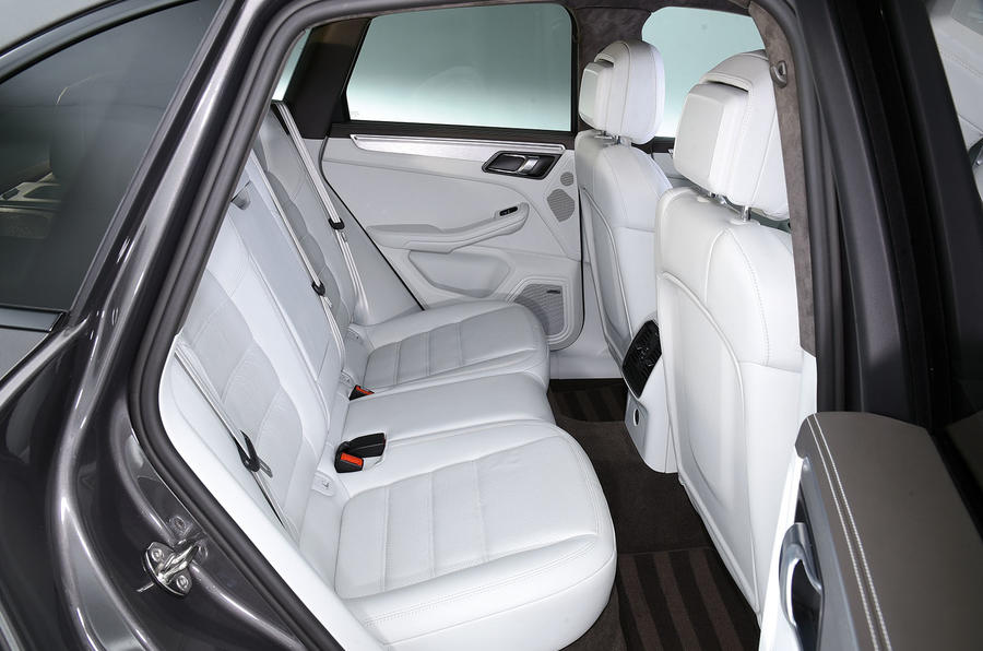Porsche Macan Turbo rear seats