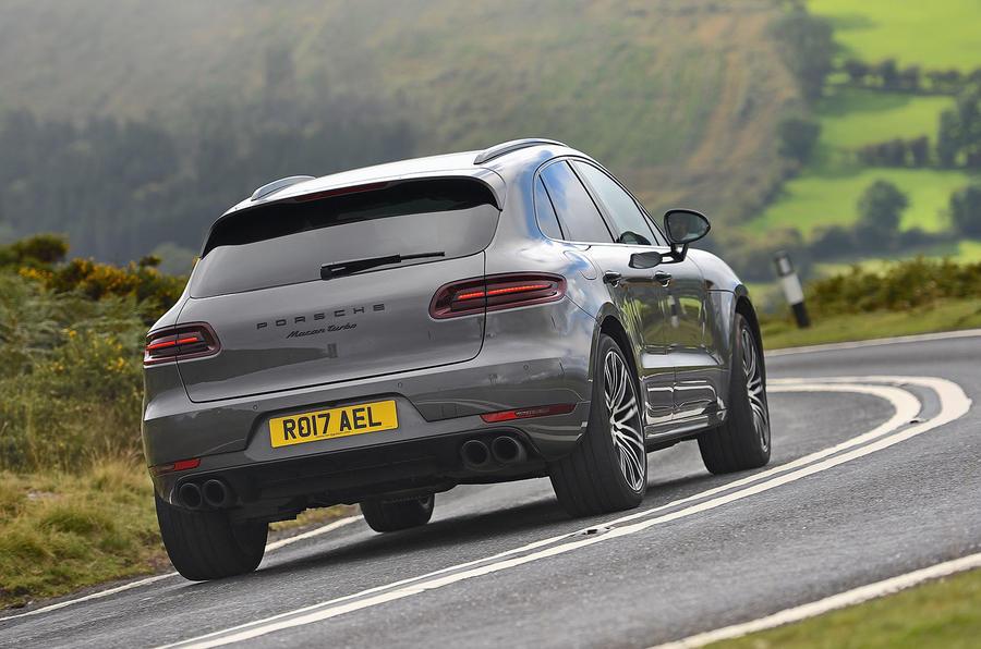 Porsche Macan Turbo rear