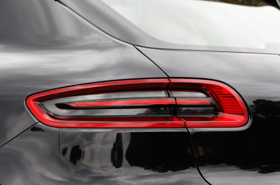 Porsche Macan rear LED cluster