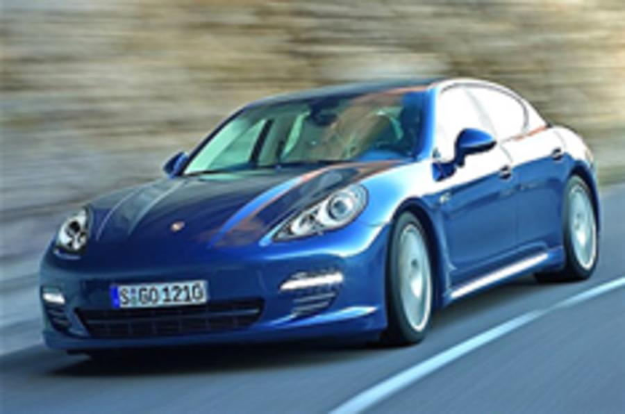Panamera priced from £72k