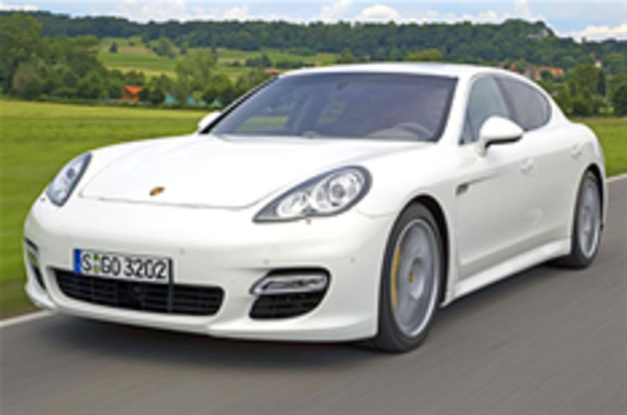 Porsche Panamera on video