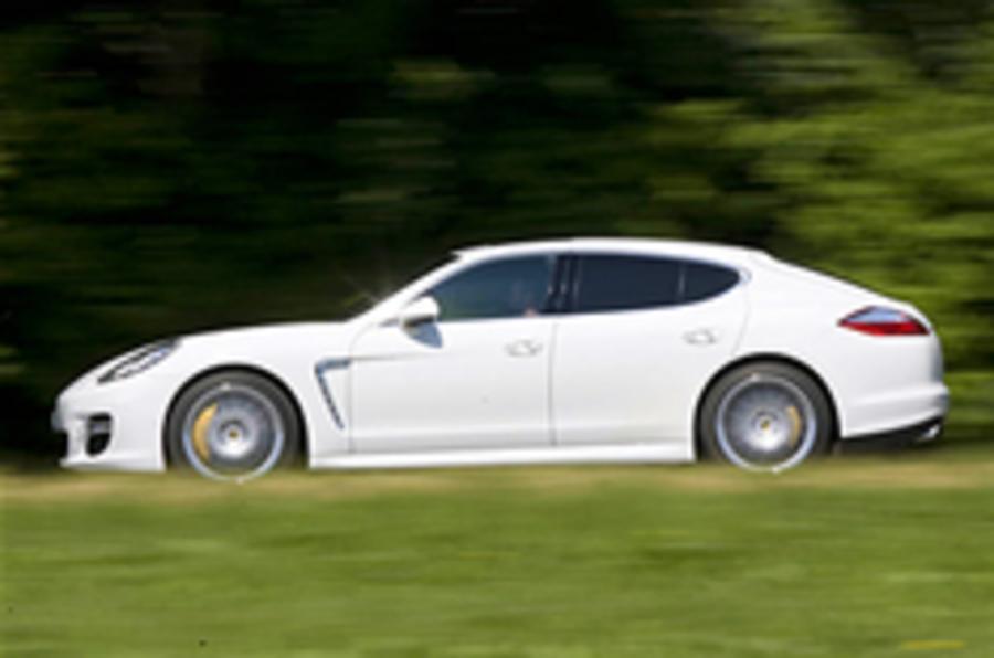 Porsche Panamera's 'Ring record