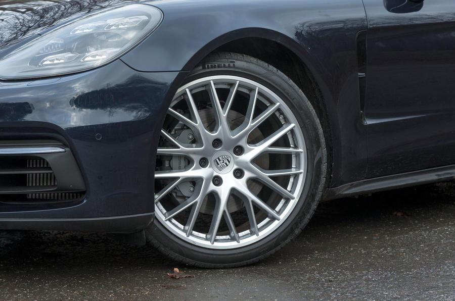 19in Porsche Panamera alloy wheels